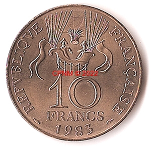 Monnaies d 39 europe monnaies fran aises 1 f 93 - Comptoir numismatique monaco ...