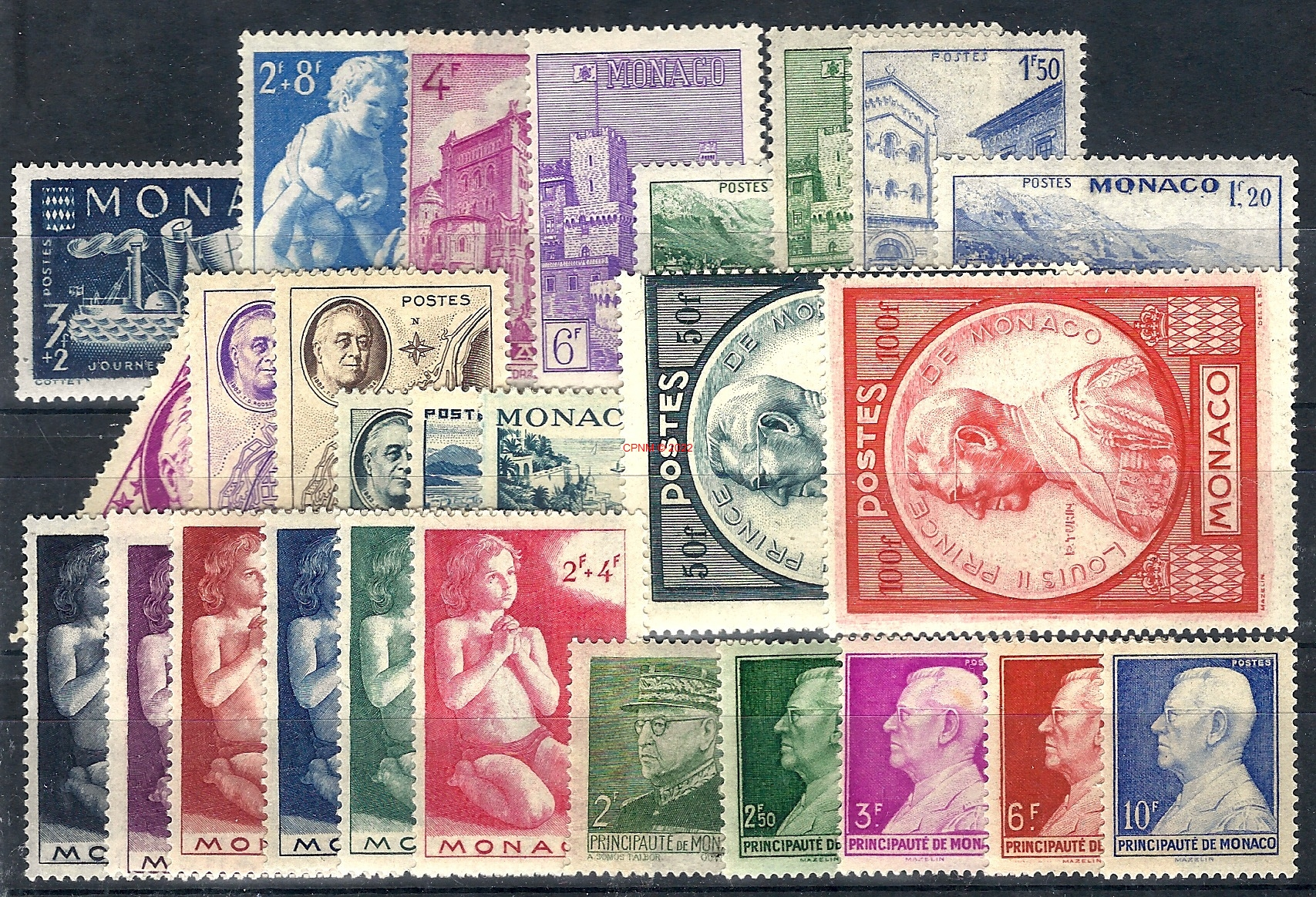 Timbres monaco - Comptoir numismatique monaco ...