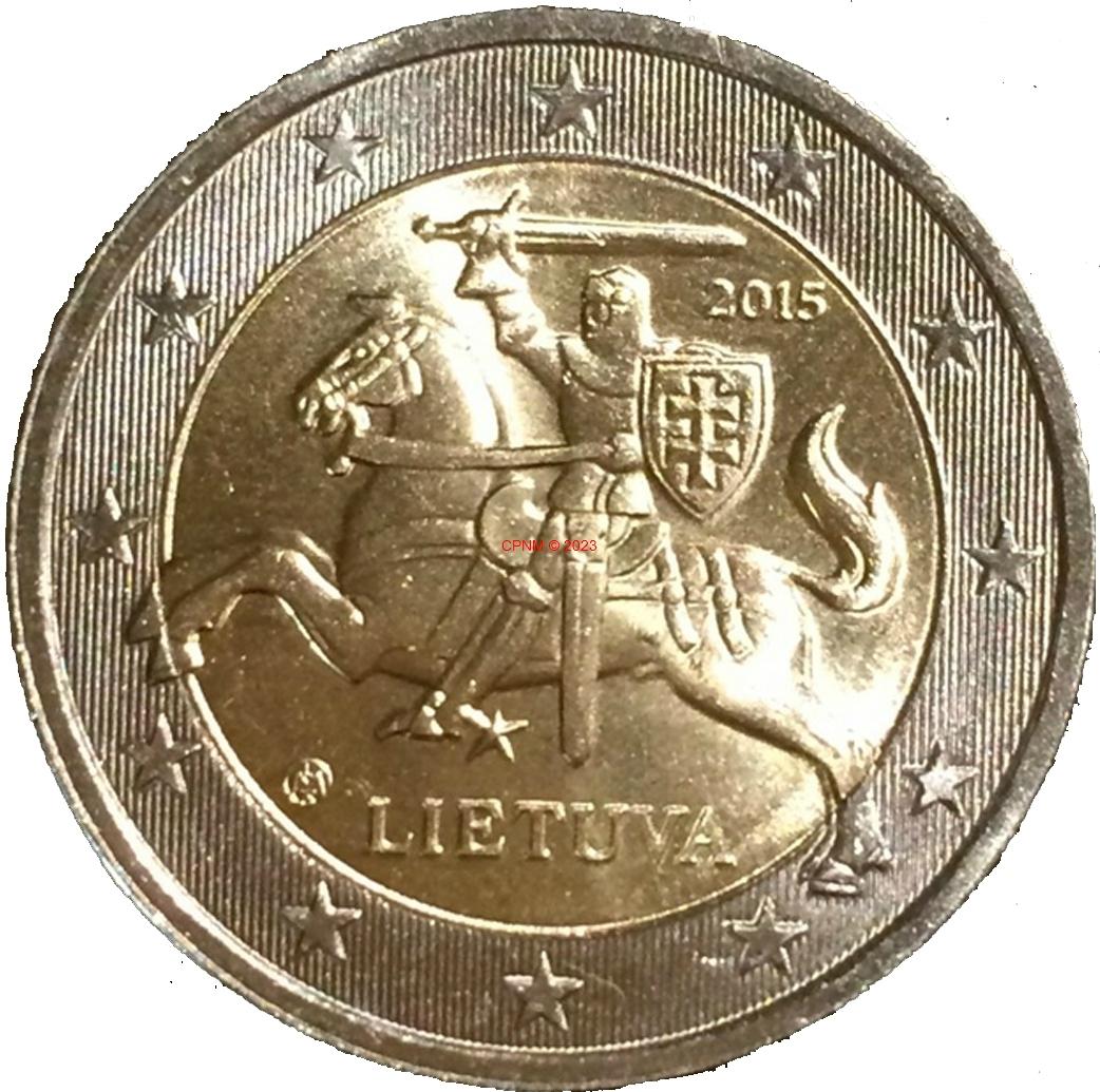 Euros lituanie 2 euros courantes - Comptoir numismatique monaco ...