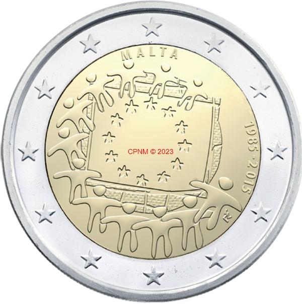 Euros monaco mc 2 c 15 - Comptoir numismatique monaco ...