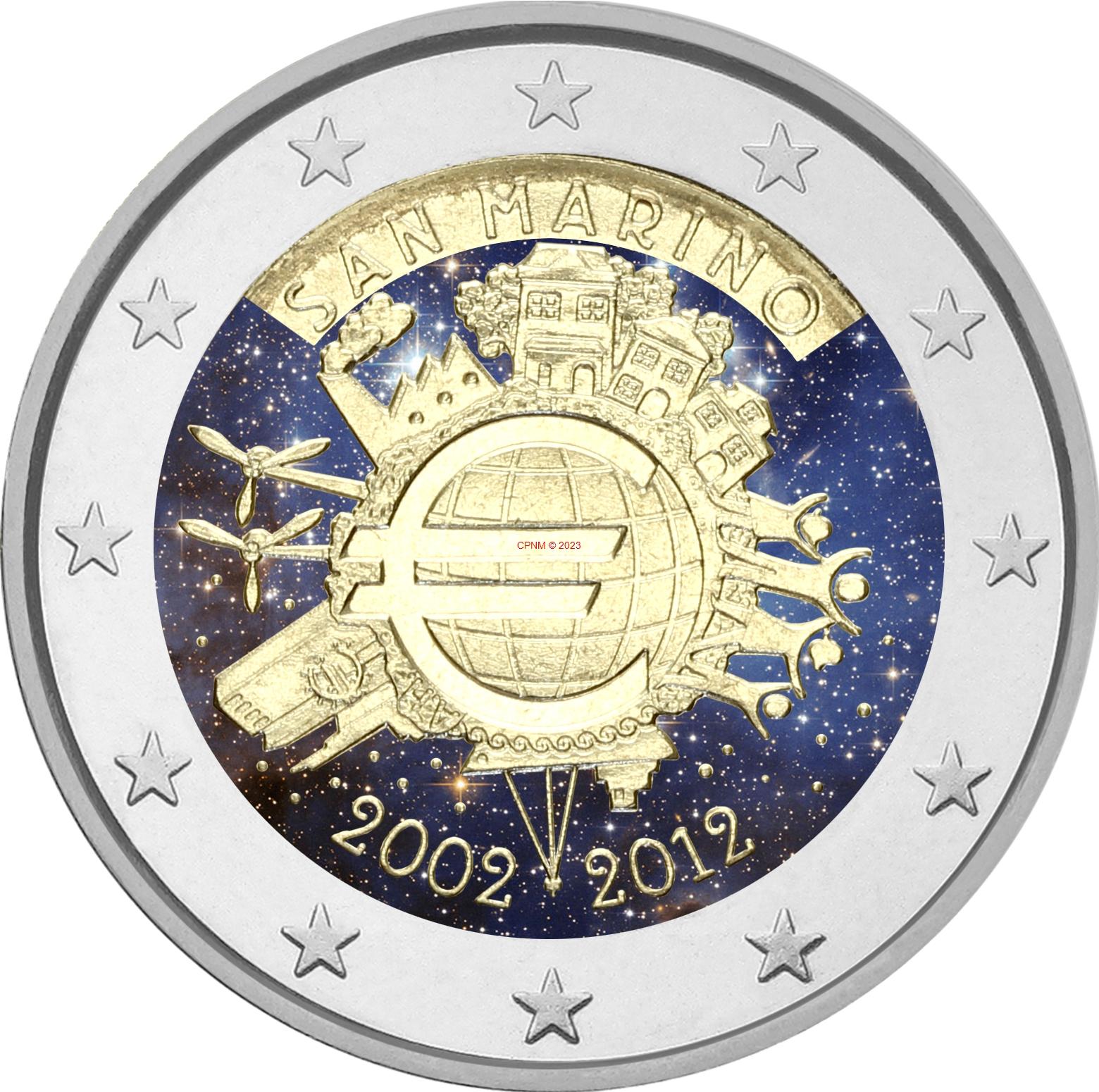 Euros 2 euros comm moratives page 54 - Comptoir numismatique monaco ...