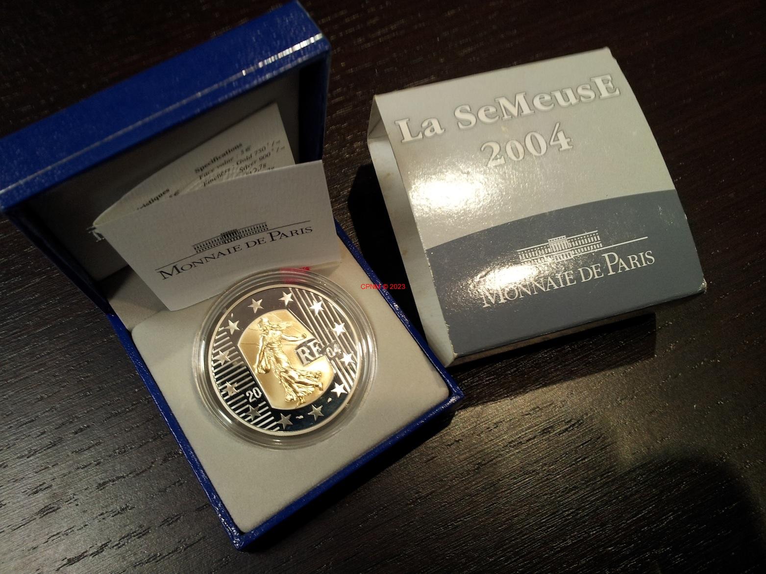 Euros france ann e 2004 - Comptoir numismatique monaco ...