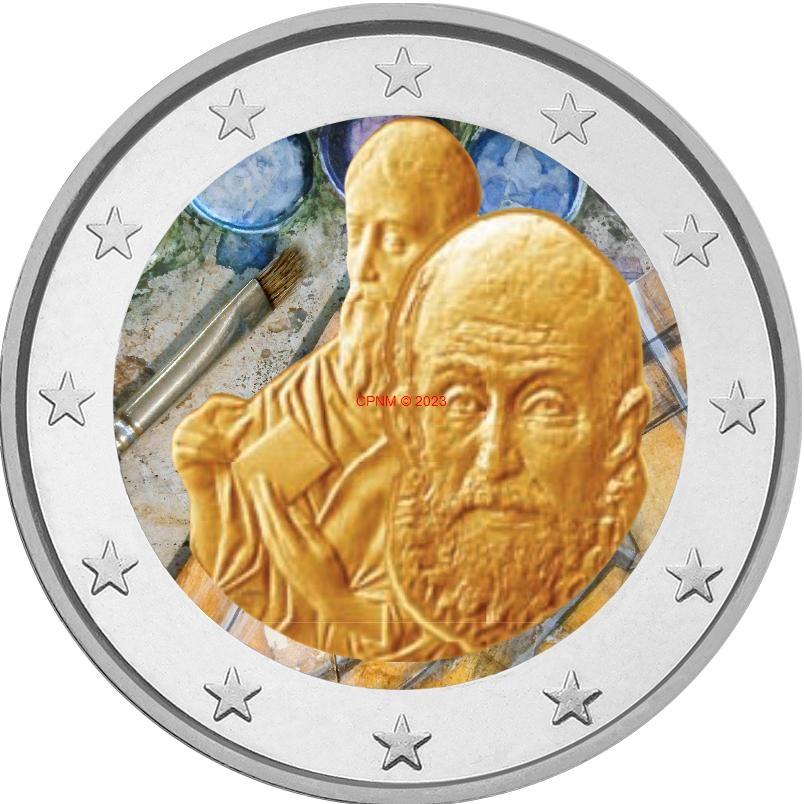 Euros gr ce 2 euros coloris es - Comptoir numismatique monaco ...