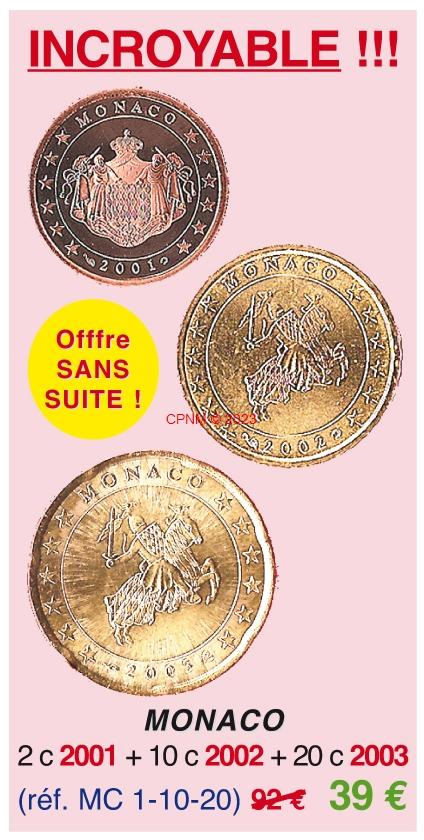 Euros monaco page 4 - Comptoir numismatique monaco ...